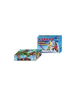 """Кубики дитячі 12шт. """"Улюблені мультфільми"""""""
