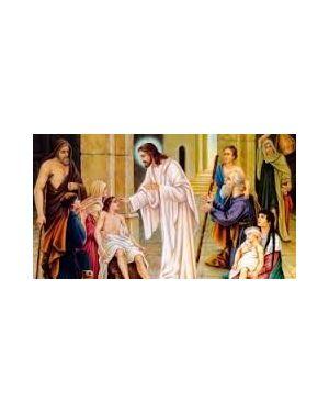 """Дев""""ятниці зцілення та переміни серця у безнадійних обставинах. Ісус зцілює тебе"""