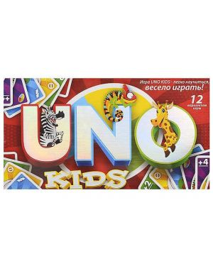 "Настільна гра ""Uno kids"" danko toys SP G11/10"