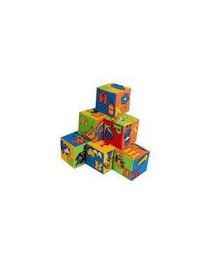 """Набір м'яких кубиків """"Абетка"""" 6шт. Розумна іграшка 046"""