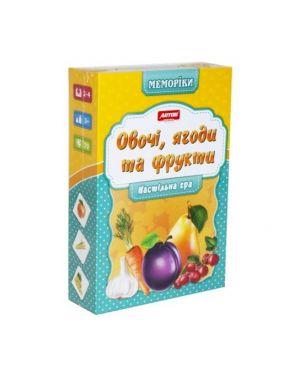 """Розвиваюча гра """"Овочі, фрукти"""" Artos"""