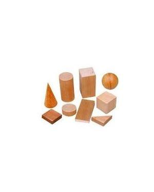 Набір геометричних фігур дерев'яні в контейнері великі