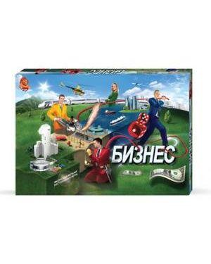 Бізнес. Економічна настільна розважальна гра. Danko toys