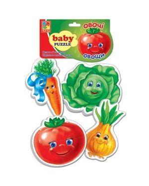 "Baby Puzzle ""Овочі"" 2+ VT1106-03 Великі м""які деталі"