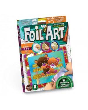 Foil Art. Аплікація кольоровою фольгою 01-08