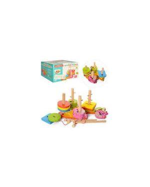 """Дерев'яна іграшка геометрика MD 0902 """"Злови рибку"""""""