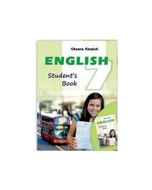 Англійська мова 7 клас English Pupil's  Book  ЗОШ Підручник. 2021