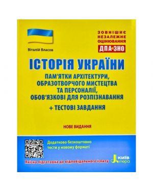 ЗНО 2021: Історія України. Пам'ятки архітектури та образотворчого мистецтва + тестові завдання